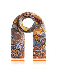 Paisley-Schal aus recyceltem Polyester