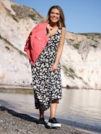 Jerseykleid mit Gummizug in der Taille
