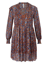 Kleid mit Blütenprint