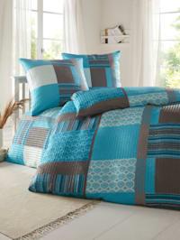 Mikrovlákno-krepová posteľná bielizeň Irma