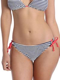 Bikini Slip STRIPE PRINT