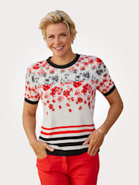 Shirt im bedruckten Muster-Mix