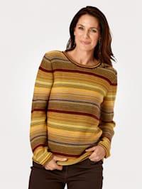 Pullover mit harmonischem Farbverlauf
