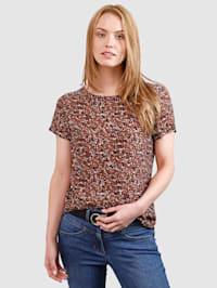 Leopardikuosinen pusero