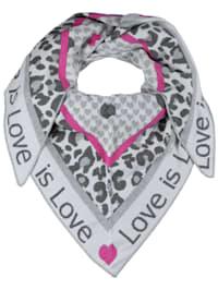 Dreieckstuch Love is Love