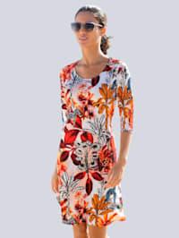 Robe de plage àimprimé jungletrès estival