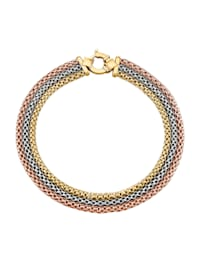 Armband 3rhg. in Gelbgold 585