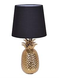 Lampa med ananasformad lampfot