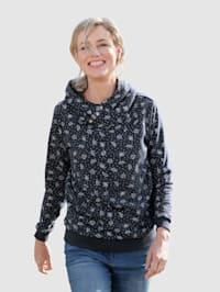 Sweatshirt allover bedruckt