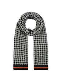 Softer Oversized-Schal mit zeitlosem Hahnentritt-Muster