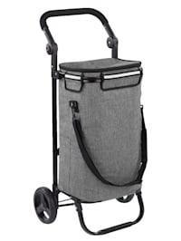 Chariot de courses 'Thermo & Comfort', avec sac à bandoulière intégré