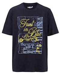 Puuvillainan T-paita printillä