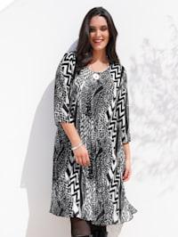 Kleid aus Plissee-Qualität