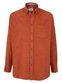 Košile S límcem s knoflíky