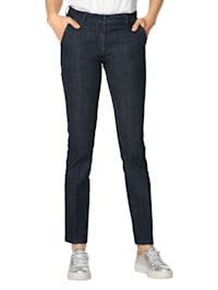 Jeans med biser