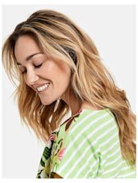 Floral bedrucktes Shirt organic cotton