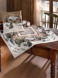 Tischwäsche 'Winterlandschaft'