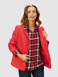 Gewatteerde jas in blazermodel