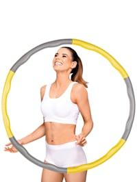 Hula-Hoop-Reifen, 6 Segmente, zur individuellen Gewichtsänderung befüllbar