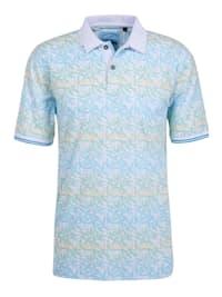 Bedrucktes Poloshirt