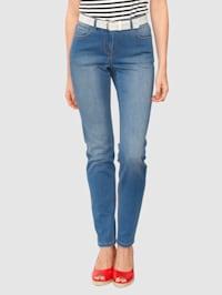 Jeans med lätt tvättning