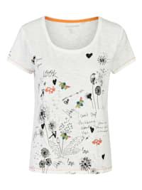 """Zertifiziertes Print-Shirt Modell """"Grietje"""" aus kbA-Baumwolle"""