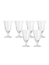 Wasserglas 6er-Set Volterra