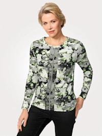Shirt mit dekorativen Zierbändern