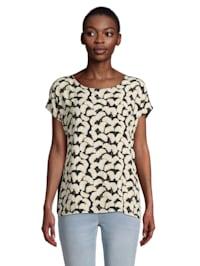 Printshirt mit Muster