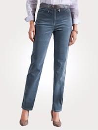 Trousers made of soft sturdy velvet