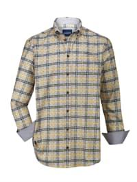 Košeľa v príjemnej bavlnenej kvalite