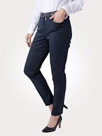 Kalhoty v komfortní příčné elastické kvalitě