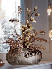 Bloemstuk met orchideeën