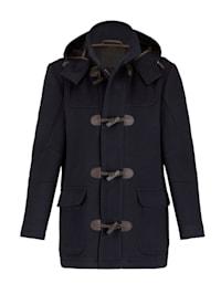 Kabát v elegantnom vzhľade