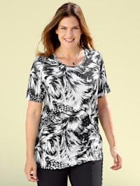 Shirt met grafisch dessin