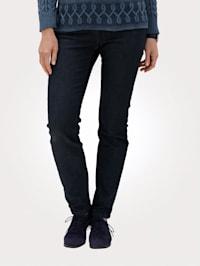 Jeans med dekorativ strass
