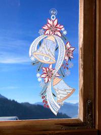 Okenná dekorácia Zvonček