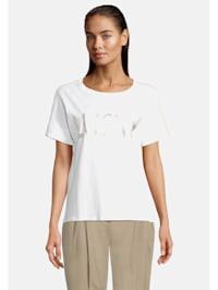 Casual-Shirt mit Aufdruck
