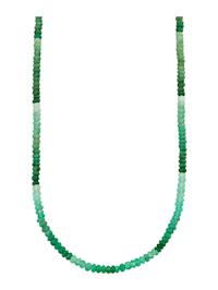 Halsband med krysopras