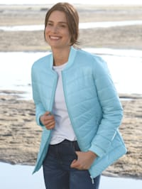 Jacke in dezent glänzender Qualität