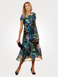 Kleid in leichter Viskosequalität