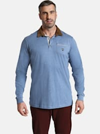Langarm-Poloshirt EARL TERRY
