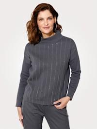 Pullover mit überschnittener Schulter