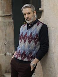 Pullover aus pflegeleichter Baumwoll-Mischung