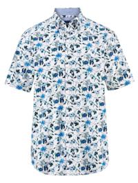 Košeľa s trendovou potlačou
