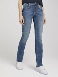 Alexa Straight Jeans mit Stretch