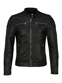 Lederjacke Jacket 965 Reißverschlüsse