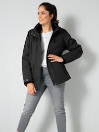 Funkční bunda s kapucí odnímatelnou zipem