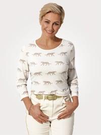 Shirt mit Leoparden-Druck