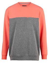 Sweatshirt met een borstzak